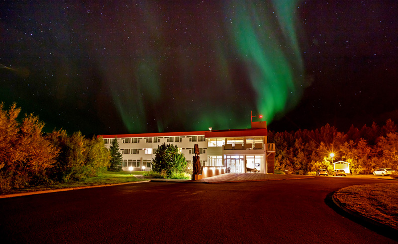 hotel kjarnalundur northern lights