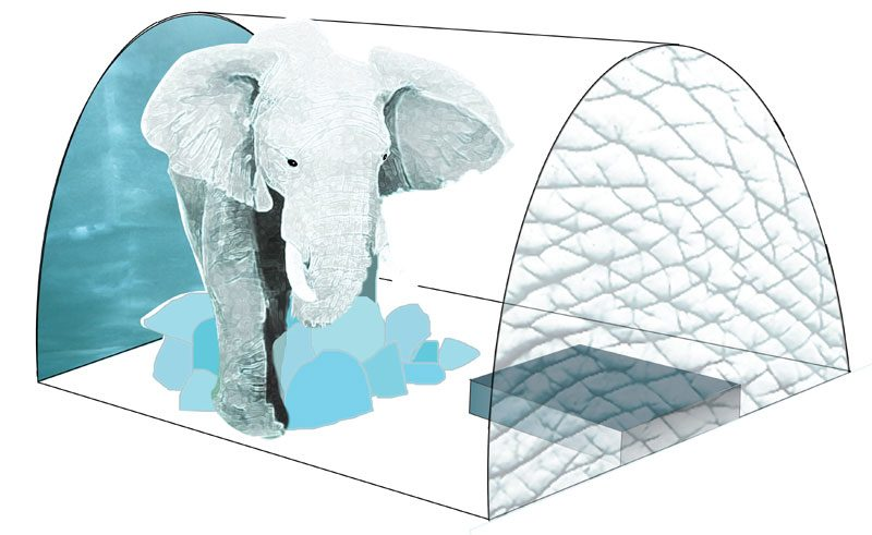 icehotel elephant in the room AnnaSofiaMaag