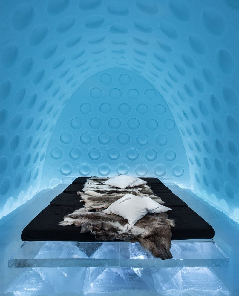 icehotel under the arctic skin