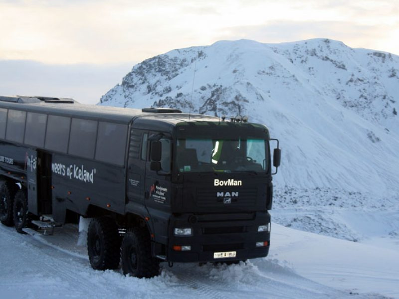 iceland 8wd truck