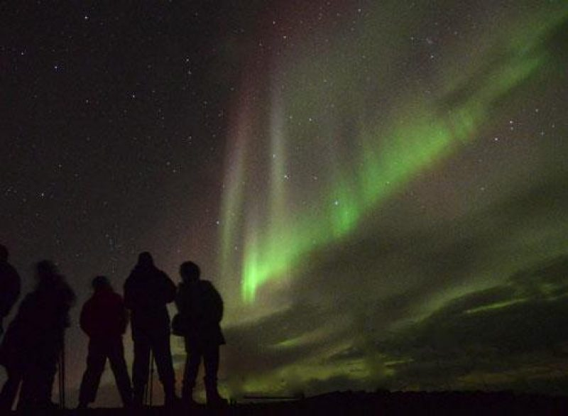 iceland aurora blog group