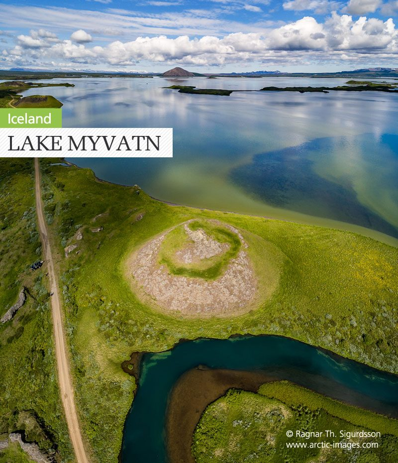 iceland myvatn pseudo craters by ragnar th sigurdsson
