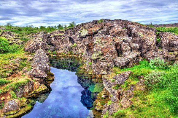 iceland south west golden circle thingvellir fissure astk