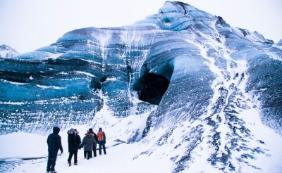 iceland south west katla ice cave entrance sthcstad