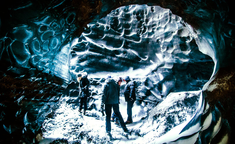 iceland south west katla ice cave group sthcstad