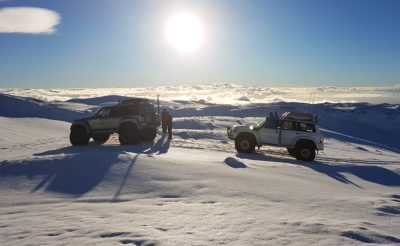 iceland south west superjeeps on snow sthcstad