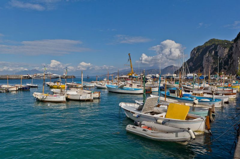 italy naples harbour isle of capri rth