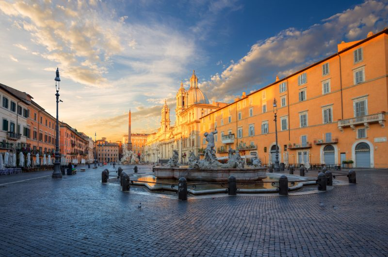 italy rome piazza navona istk