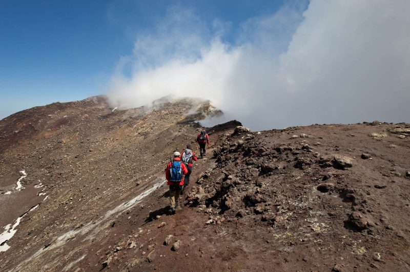 italy sicily hiking etna