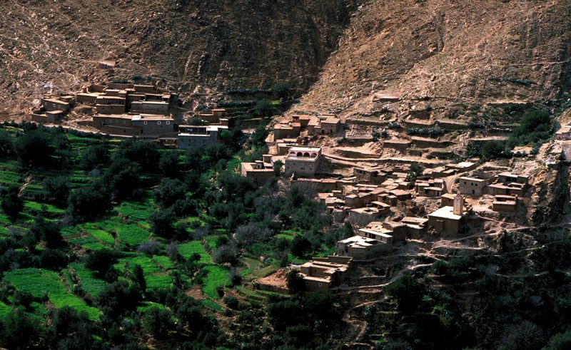 morocco tizi n test local village