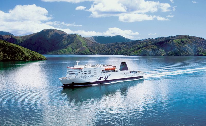 new zealand interislander through the sounds