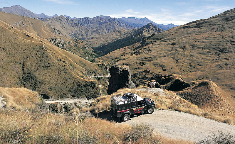 new zealand queenstown combo tour 4x4 lighthouse rock