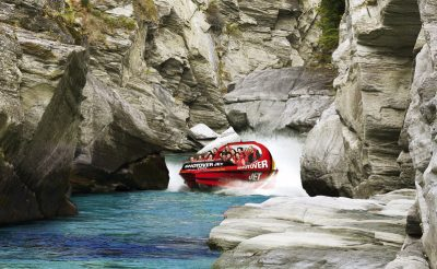 new zealand queenstown shotover jet canyon