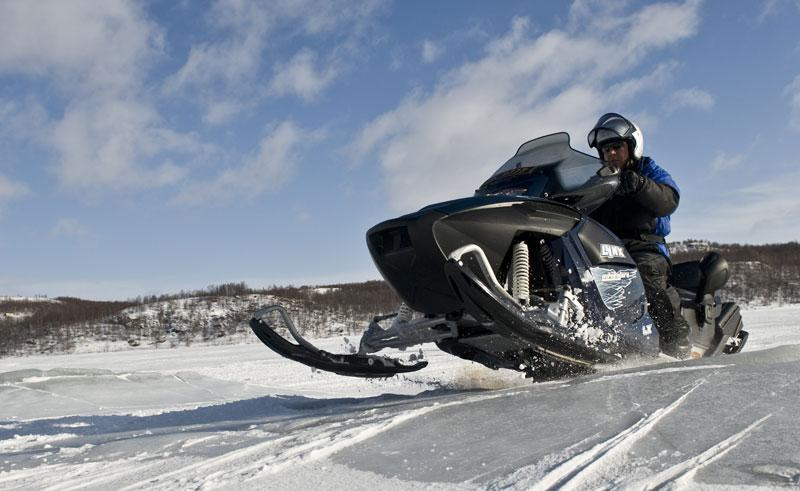 northern norway snowmobiling