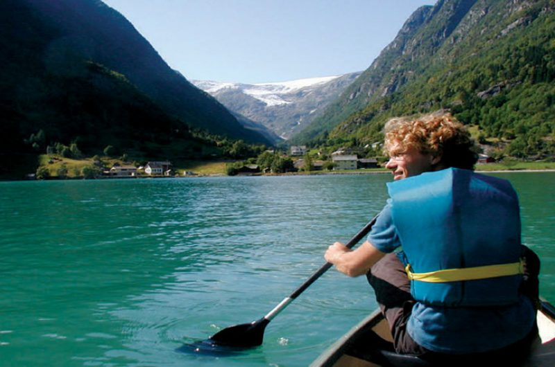 norway fjord canoeing