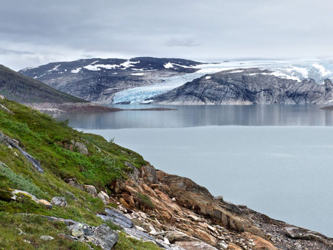 norway glacier and river ap