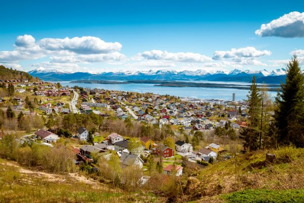 norway molde town view istk