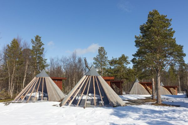 norway northern holmen tepees