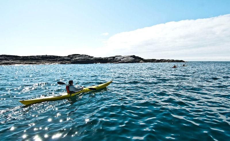 norway sea kayaking