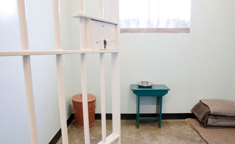 south africa cape town robben island cell