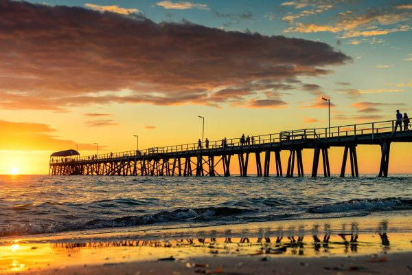 south australia henley beach jetty adelaide istk