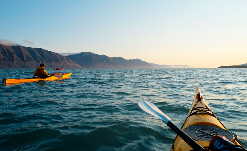 svalbard summer sea kayaking excursion htgrtn
