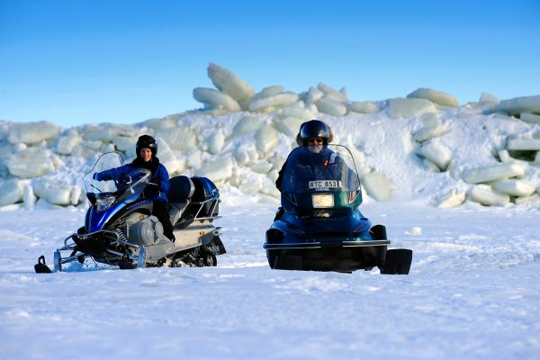 swedish lapland brandon snowmobiling on archipelago bl