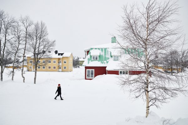 swedish lapland kiruna a town on the move vs