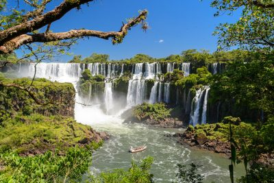 argentina iguasu falls and tour boat istk