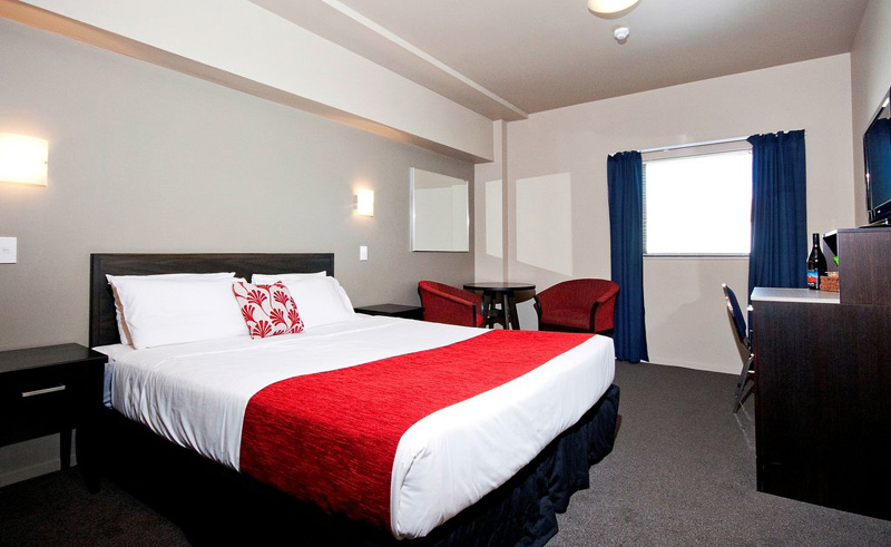 copthorne grand hotel new plymouth standard queen room