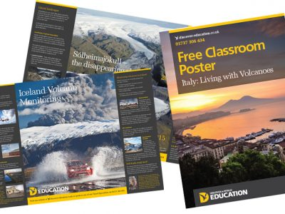 discover the world education posters