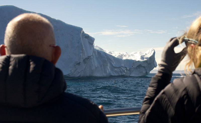 east greenland iceberg boat trip to ikateq gm