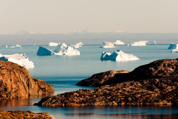 east greenland icebergs scoresbysund near constable point istk