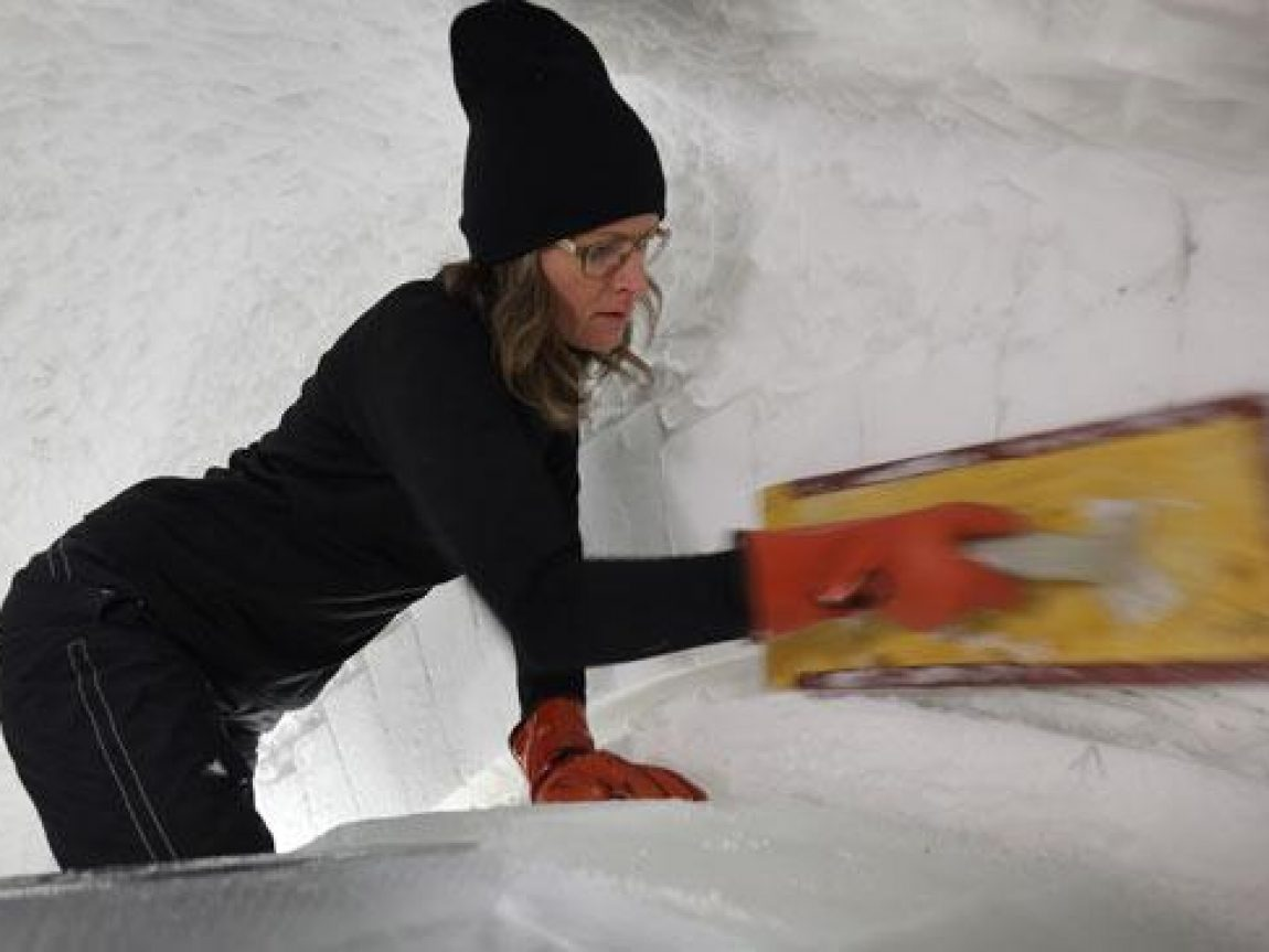 icehotel mind the gap sanding