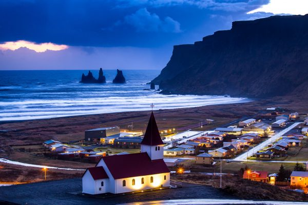 iceland south vik evening view istk