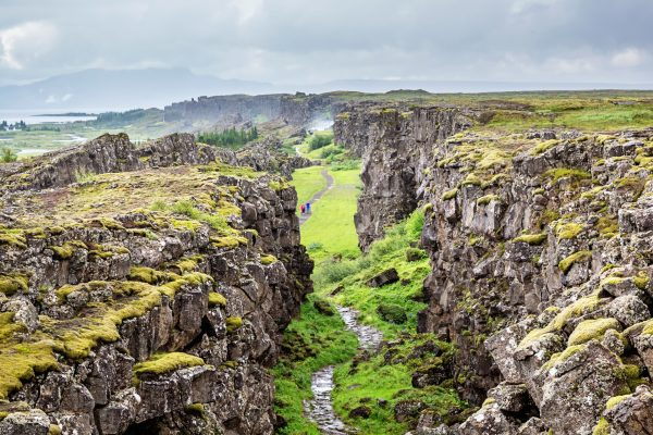 iceland south west thingvellir rift and stone path istk