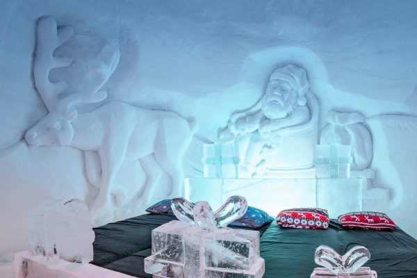 norway northern tromso ice domes ice room carving detail dtroms na