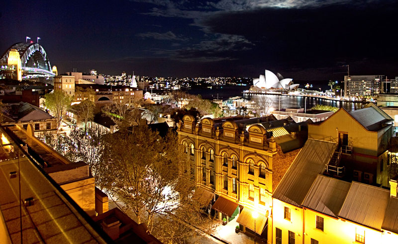 rendezvous hotel sydney the rocks city view