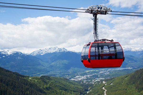 canada british columbia whistler peak to peak gondola summer istk