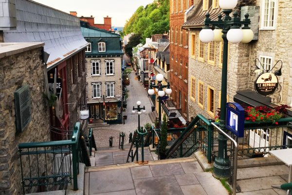 canada quebec old quebec city upper town istk
