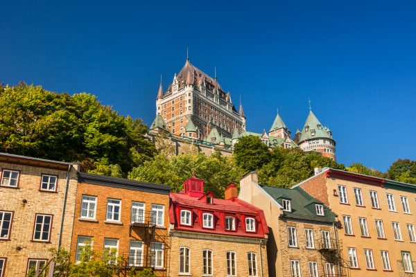 canada quebec old quebec city view istk