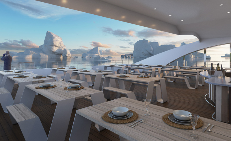 magellan explorer bbq area on deck cgi