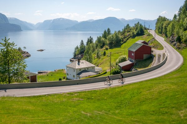 norway fjords sognefjord lavik cycling hl