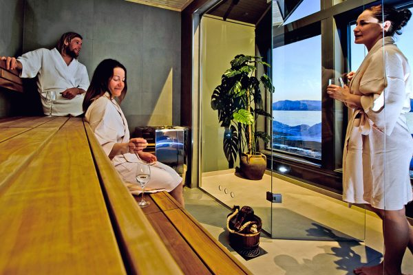 norway northern lyngen experience sauna