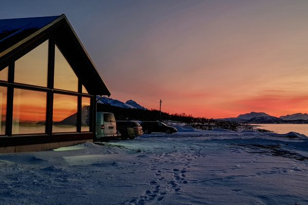 norway northern lyngen experience sunset view