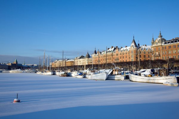 sweden stockholm frozen winter view smb htrygg