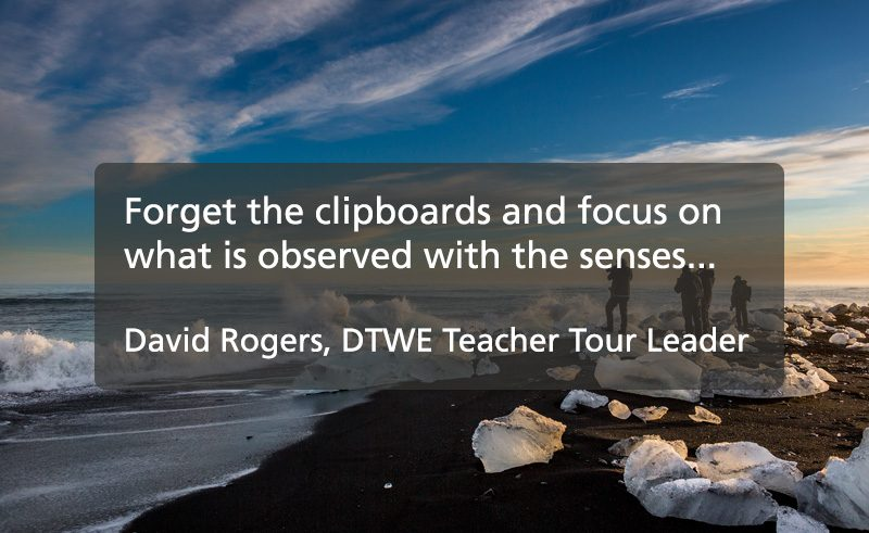tour leader tips quote david rogers