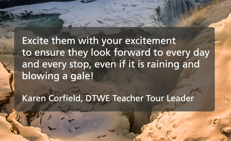 tour leader tips quote karen corfield