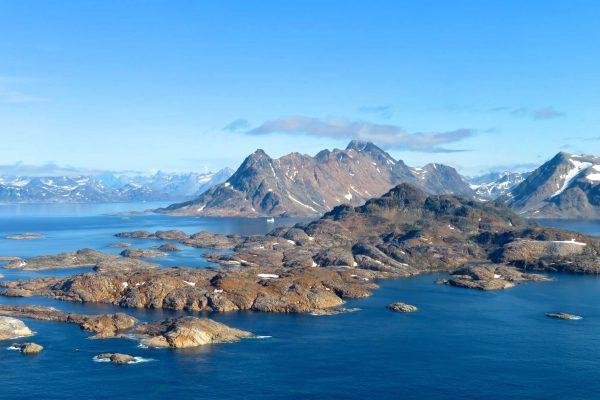 east greenland view from helicopter flight ch