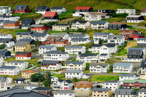faroe islands bordoy klaksvik close up istk